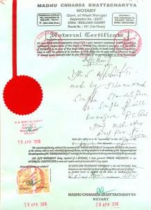 Affidavit Regurding Staff D El Ed (1)
